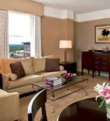 Accommodations:      The Westin Poinsett  in Greenville