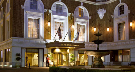 Weddings:      The Westin Poinsett  in Greenville