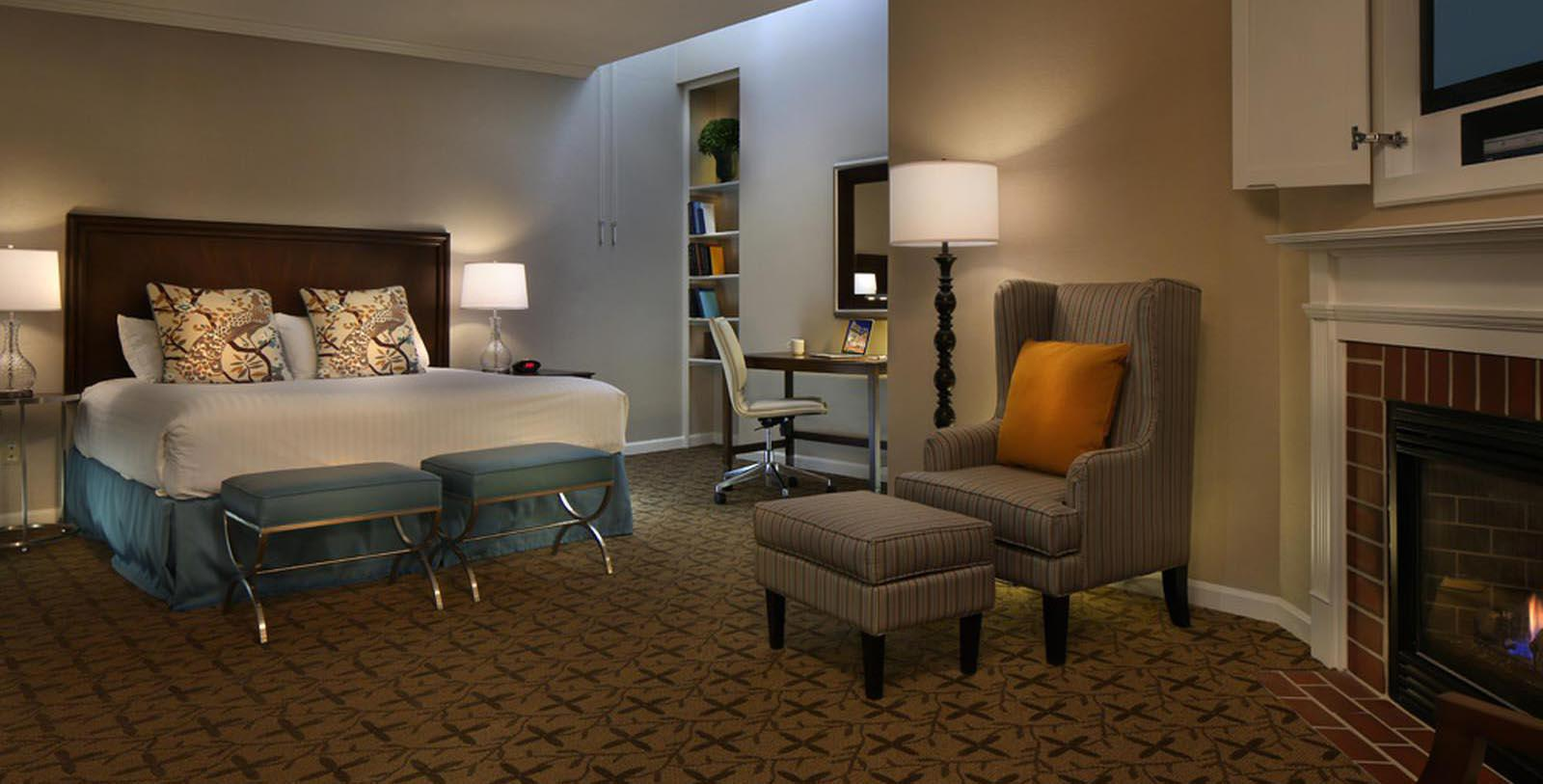 Image of guestroom suite at Gettysburg Hotel, Est.1797, Member of Historic Hotels of America, in Gettysburg, Pennsylvania, Location Map