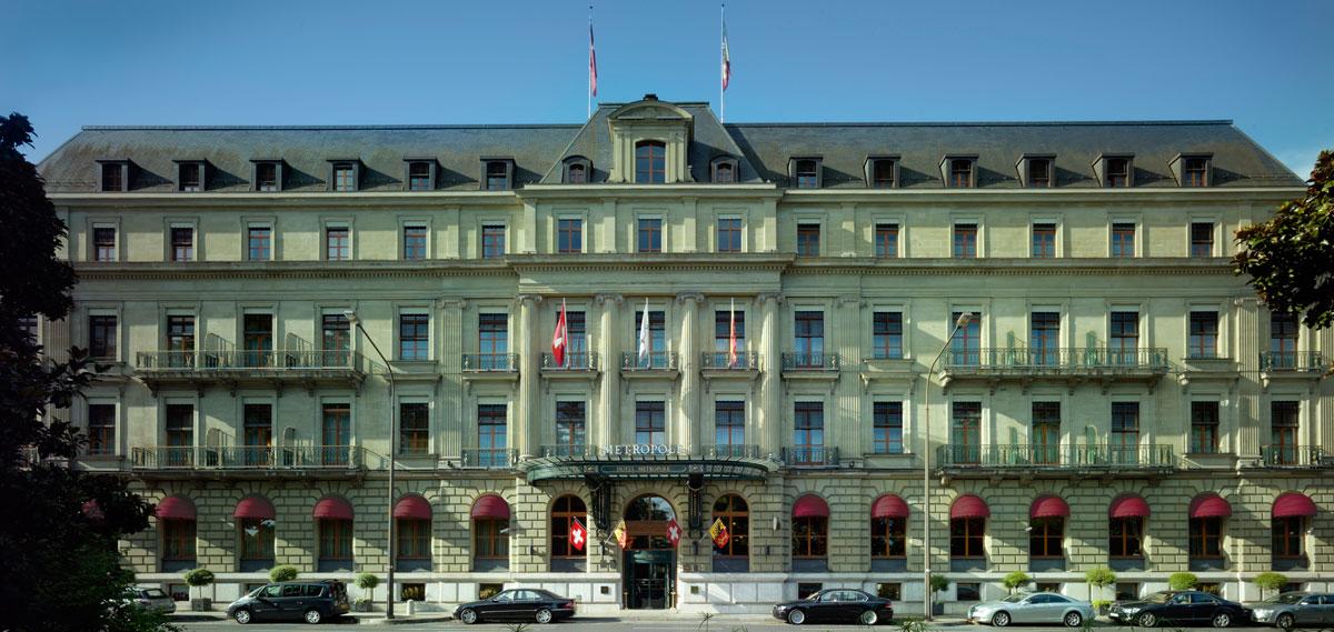 Luxury hotels in geneva switzerland hotel metropole for Hotels geneve