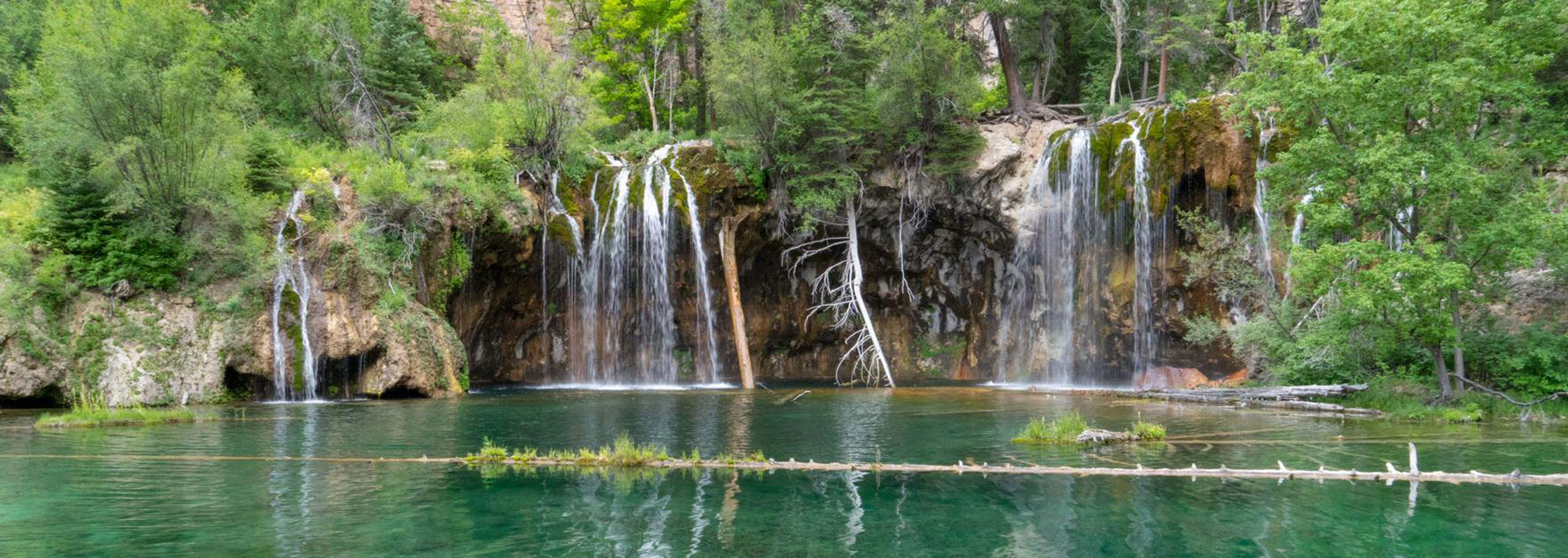 Image of Hanging Lake at the Hotel Colorado, 1893, Member of Historic Hotels of America, Glenwood Springs, Colorado, Explore