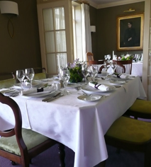Dining at      Gregans Castle Hotel  in Ballyvaughan