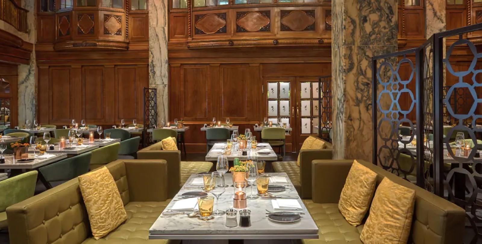 Image of signature restaurant Reichshof Hamburg, Curio Collection by Hilton, Hamburg, Germany Dining