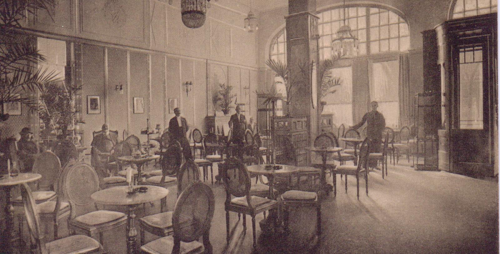 Historic Image of Guests Reichshof Hamburg, Curio Collection by Hilton, 1910, Member of Historic Hotels Worldwide, Hamburg, Germany, Discover