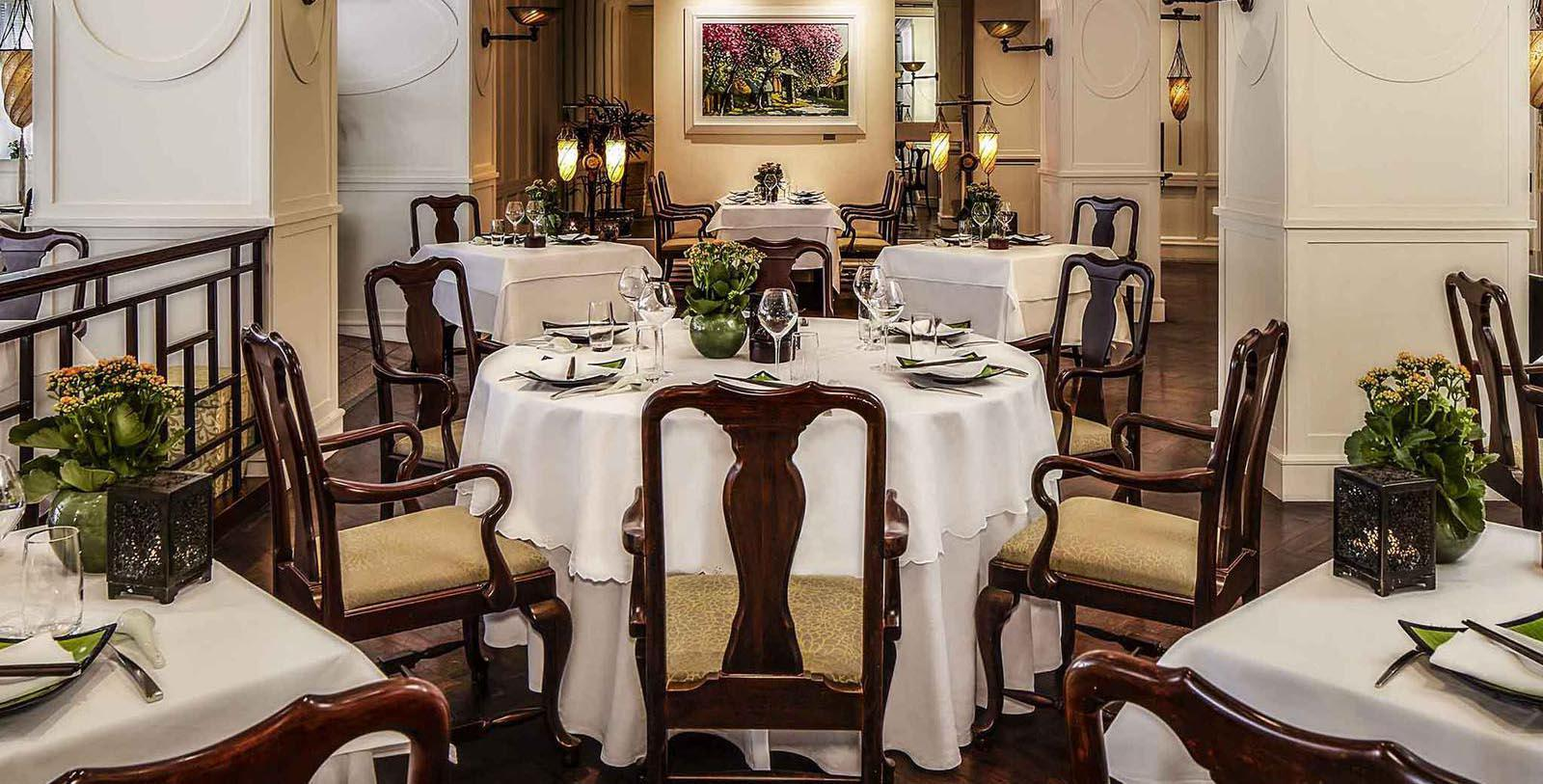 Image of Dining Room at Spices Garden Restaurant at Sofitel Legend Metropole Hanoi, 1901, Member of Historic Hotels Worldwide, in Hanoi, Vietnam, Taste