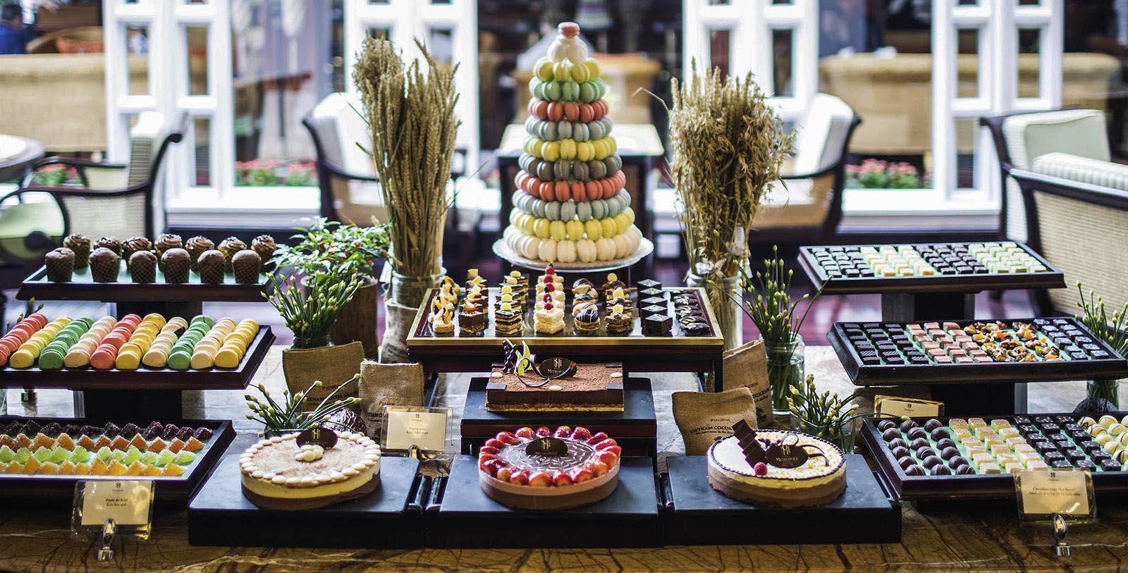 Image of Dessert Bar at Sofitel Legend Metropole Hanoi, 1901, Member of Historic Hotels Worldwide, in Hanoi, Vietnam, Hot Deals