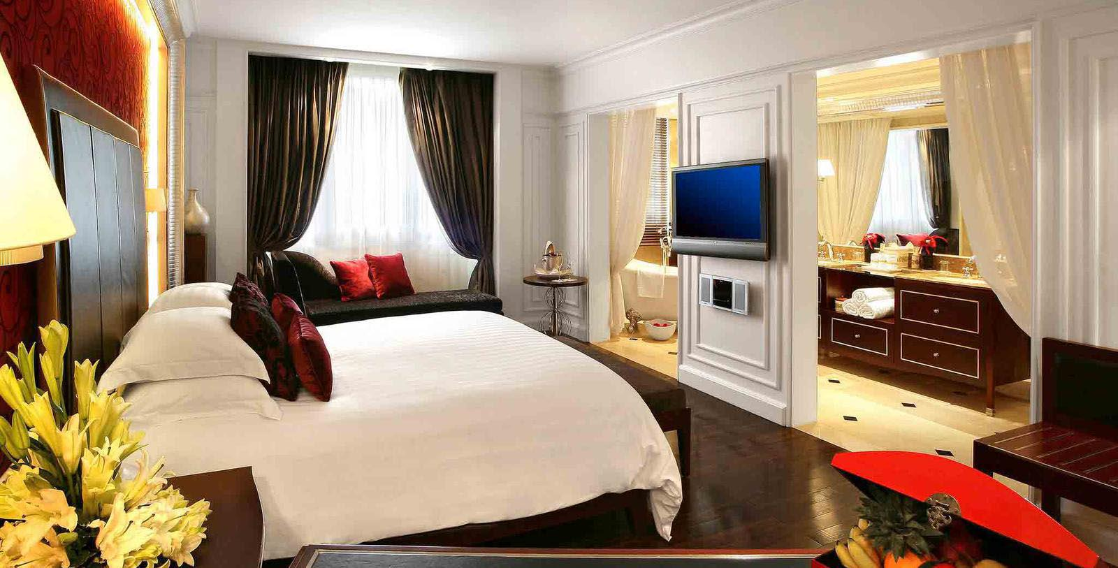 Image of Guestroom at Sofitel Legend Metropole Hanoi, 1901, Member of Historic Hotels Worldwide, in Hanoi, Vietnam, Location Map