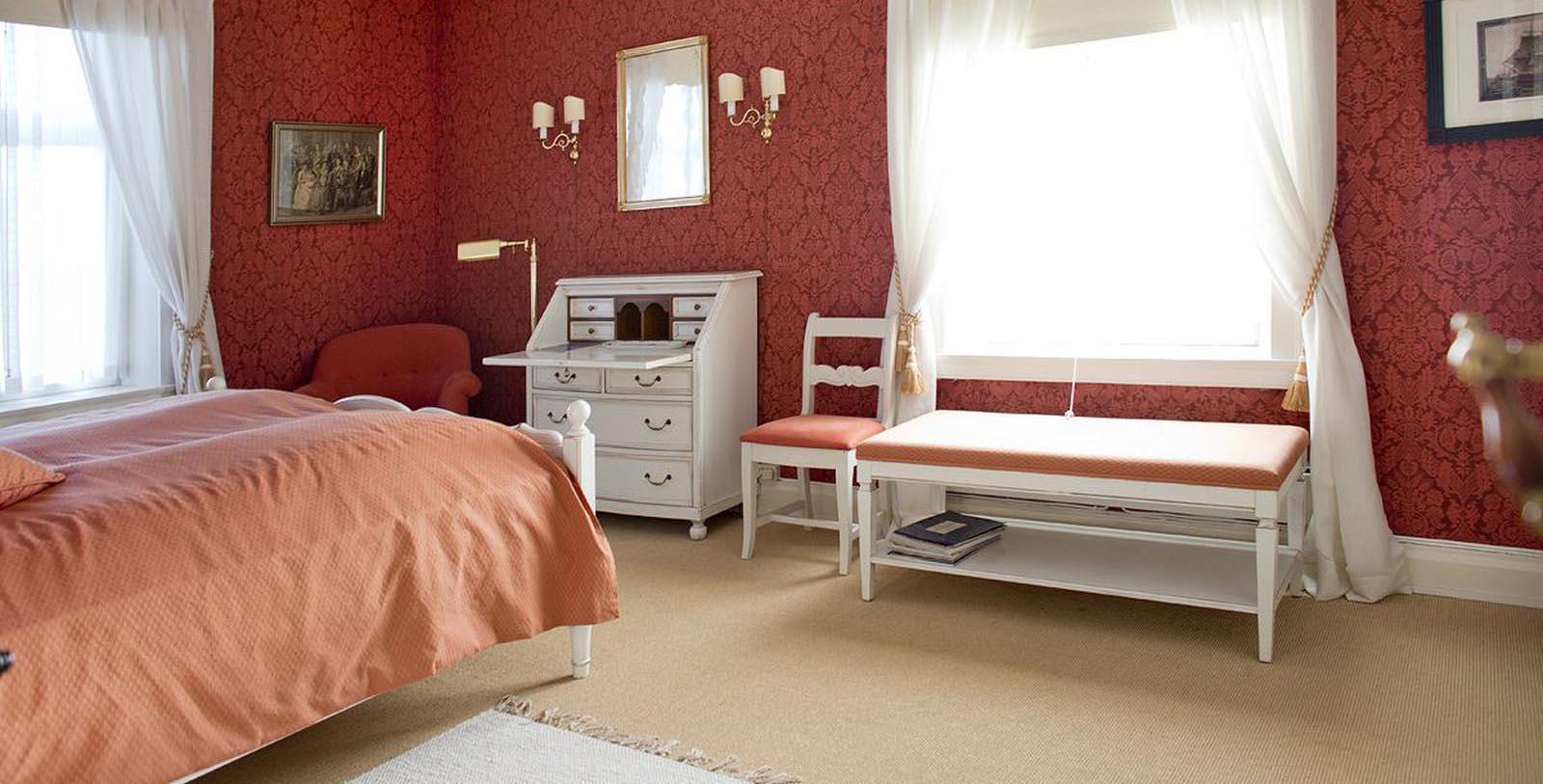 Image of Guestroom Interior Høyevarde Fyrhotell, 1700, Member of Historic Hotels Worldwide, in Havik, Norway, Accommodations