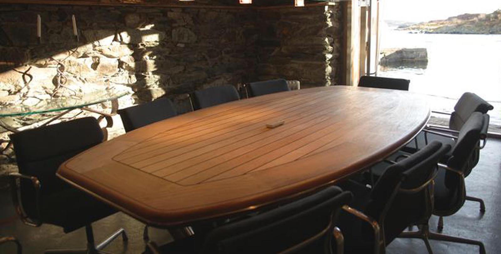 Image of Meeting Room Høyevarde Fyrhotell, 1700, Member of Historic Hotels Worldwide, in Havik, Norway, Experience