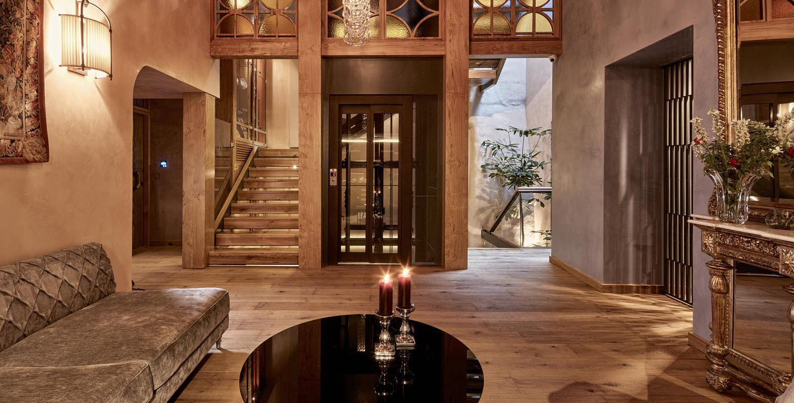 Image of hotel lobby interior Domus Renier Boutique Hotel, 1608, Member of Historic Hotels Worldwide, in Chania, Greece, Explore