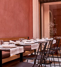 Dining at      Domus Renier Boutique Hotel  in Chania