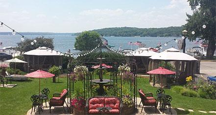 Historic Hotels of Lake Geneva  in Lake Geneva