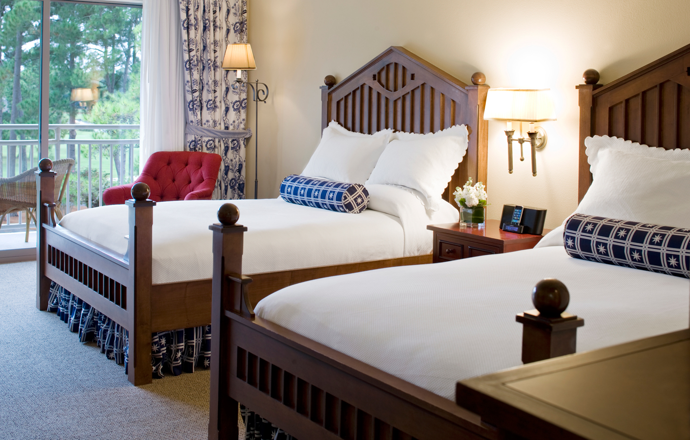 Accommodations:      The Inn & Club at Harbour Town  in Hilton Head Island