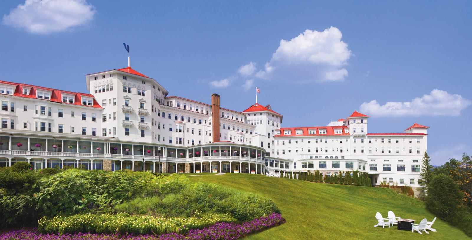 Image of Hotel Exterior, Omni Mount Washington Resort, Bretton Woods, New Hampshire, 1902, Member of Historic Hotels of America, Overview
