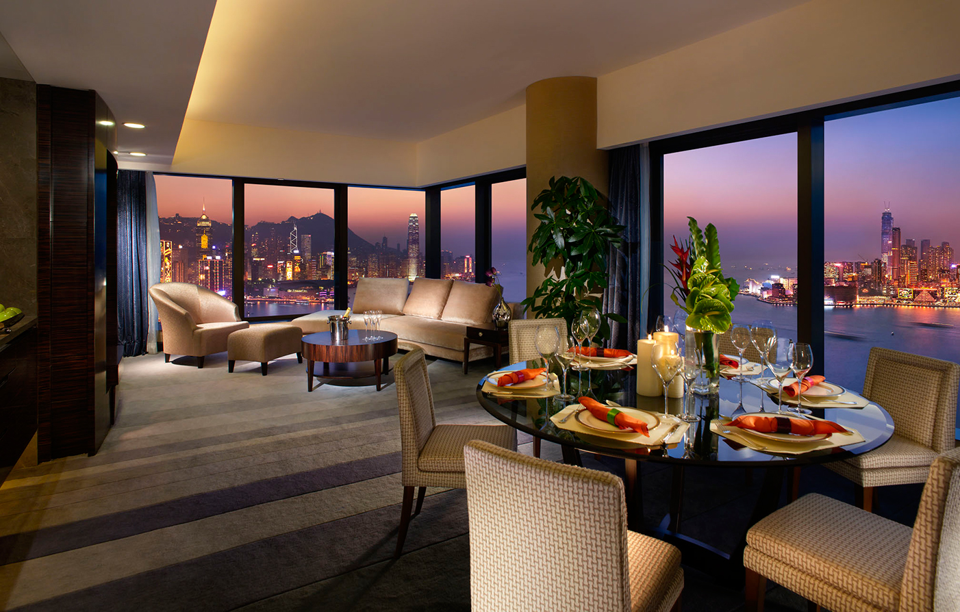 Accommodations:      Harbour Grand Hong Kong  in Hong Kong
