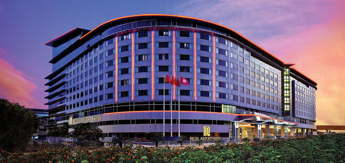 Accommodations:      Regal Airport Hotel  in Hong Kong