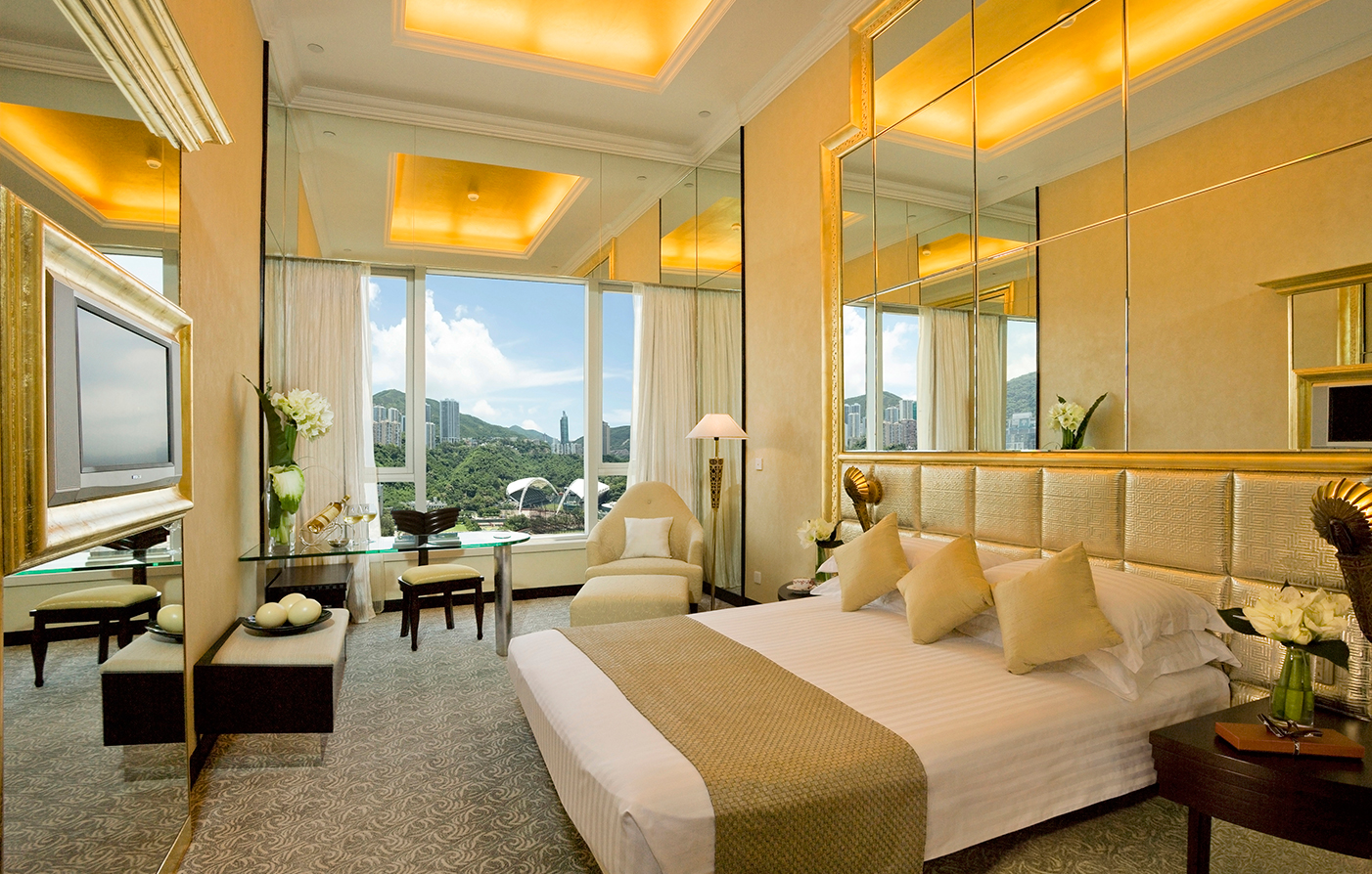 Accommodations:      Regal Hong Kong Hotel  in Hong Kong