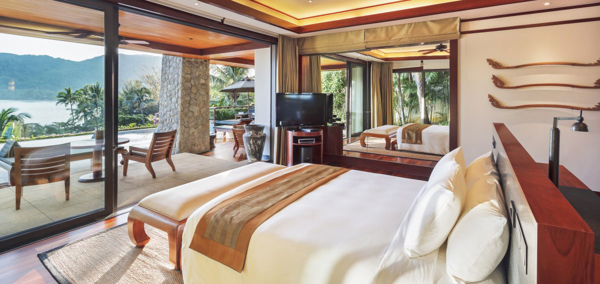 Accommodations:      Andara Resort & Villas  in Phuket
