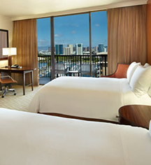 Accommodations:      Hilton Hawaiian Village® Waikiki Beach Resort  in Honolulu