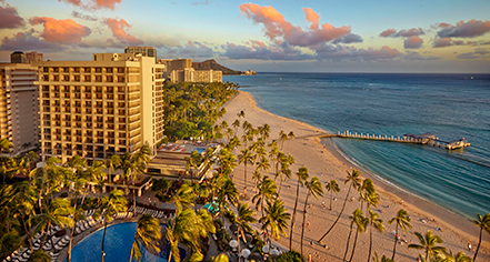 Hilton Hawaiian Village Waikiki Beach Resort In Honolulu