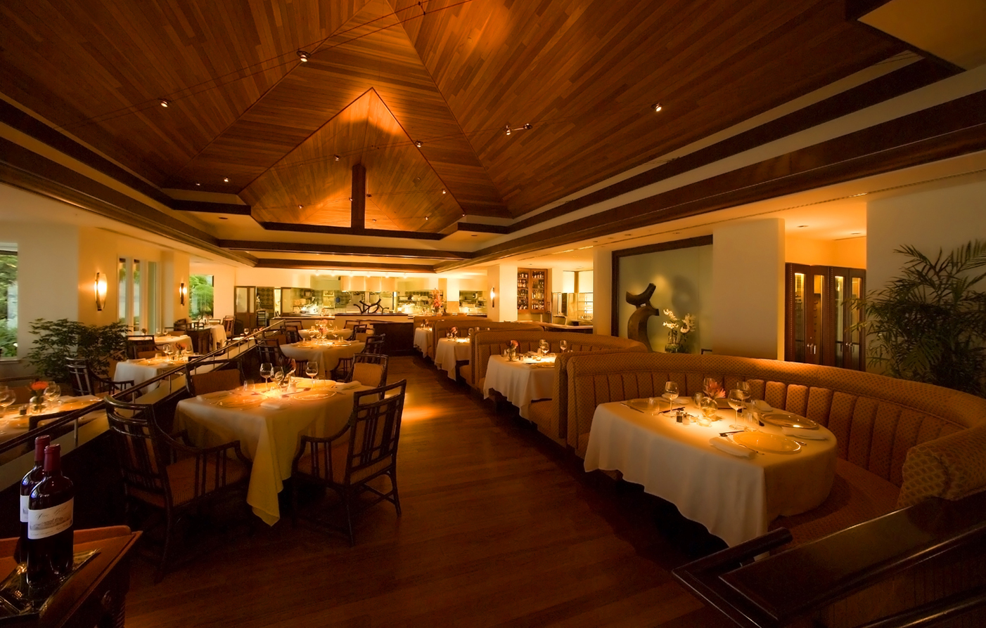 Dining:      The Kahala Hotel and Resort  in Honolulu
