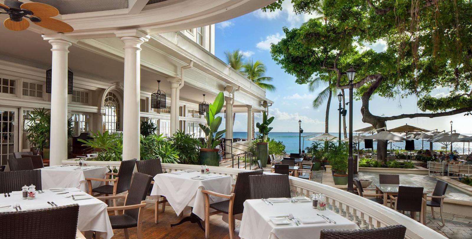 Image of Moana Oceanfront Restaurant, Moana Surfrider, A Westin Resort & Spa, Honolulu, Hawaii, 1901, Member of Historic Hotels of America, Taste