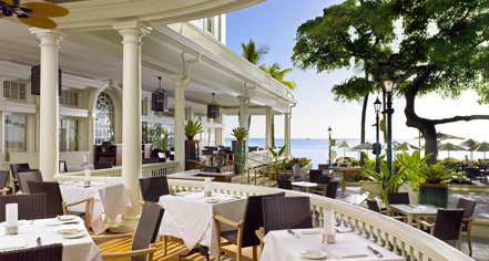 Dining at      Moana Surfrider, A Westin Resort & Spa  in Honolulu