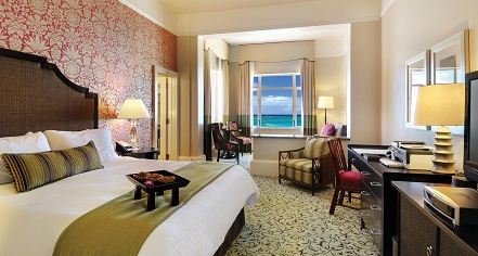 Accommodations:      The Royal Hawaiian, A Luxury Collection Resort  in Honolulu