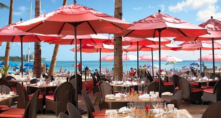 Dining at      The Royal Hawaiian, A Luxury Collection Resort  in Honolulu