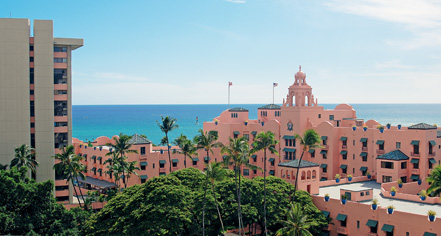 The Royal Hawaiian, A Luxury Collection Resort  in Honolulu