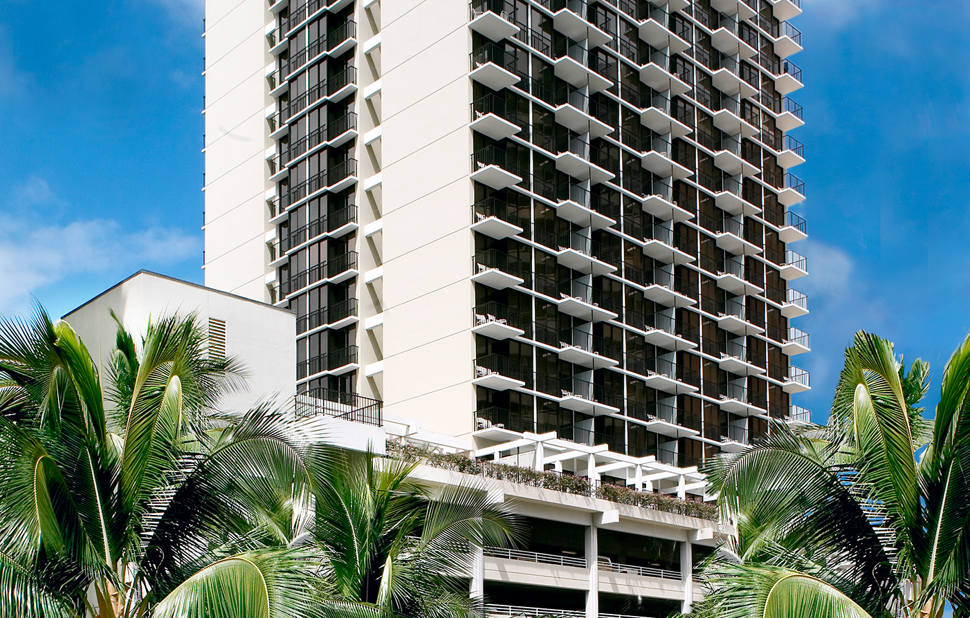 Accommodations:      Waikiki Parc Hotel  in Honolulu