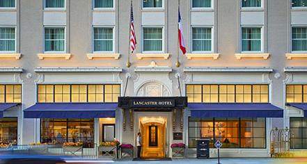 The Lancaster Hotel  in Houston