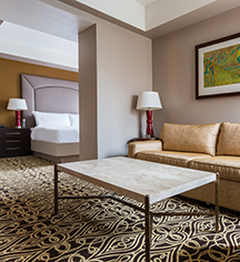 Accommodations:      The Sam Houston Hotel  in Houston