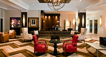 Local Attractions:      The Sam Houston Hotel  in Houston