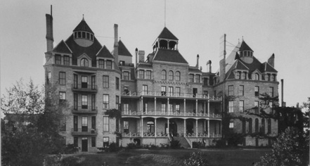 History 1886 Crescent Hotel Spa In Eureka Springs