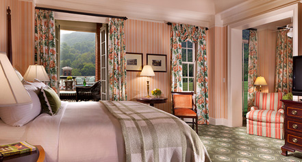 Accommodations:      The Omni Homestead Resort  in Hot Springs