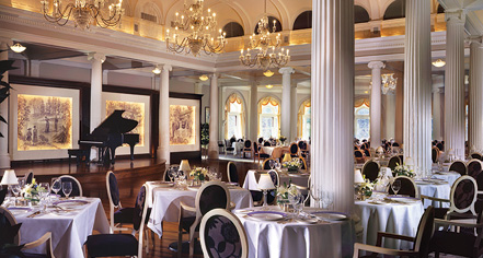 Dining at      The Omni Homestead Resort  in Hot Springs