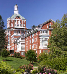 The Omni Homestead Resort  in Hot Springs