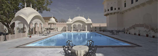 Activities:      Alsisar Mahal  in Jhunjhunu