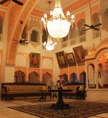 Meetings at      Alsisar Mahal  in Jhunjhunu