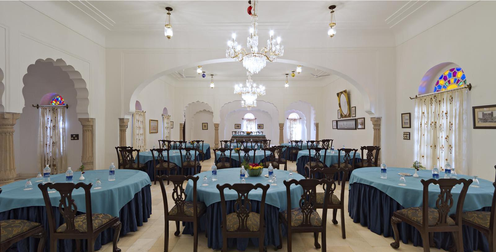 Image of meeting and event space Darbar Hall Alsisar Mahal, 1800s, Member of Historic Hotels Worldwide, in Jhunjhunu, India, Special Occasions