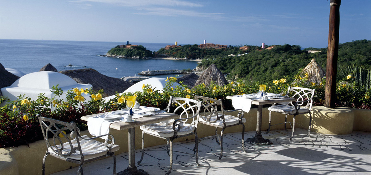 Dining:      Quinta Real Huatulco  in Huatulco