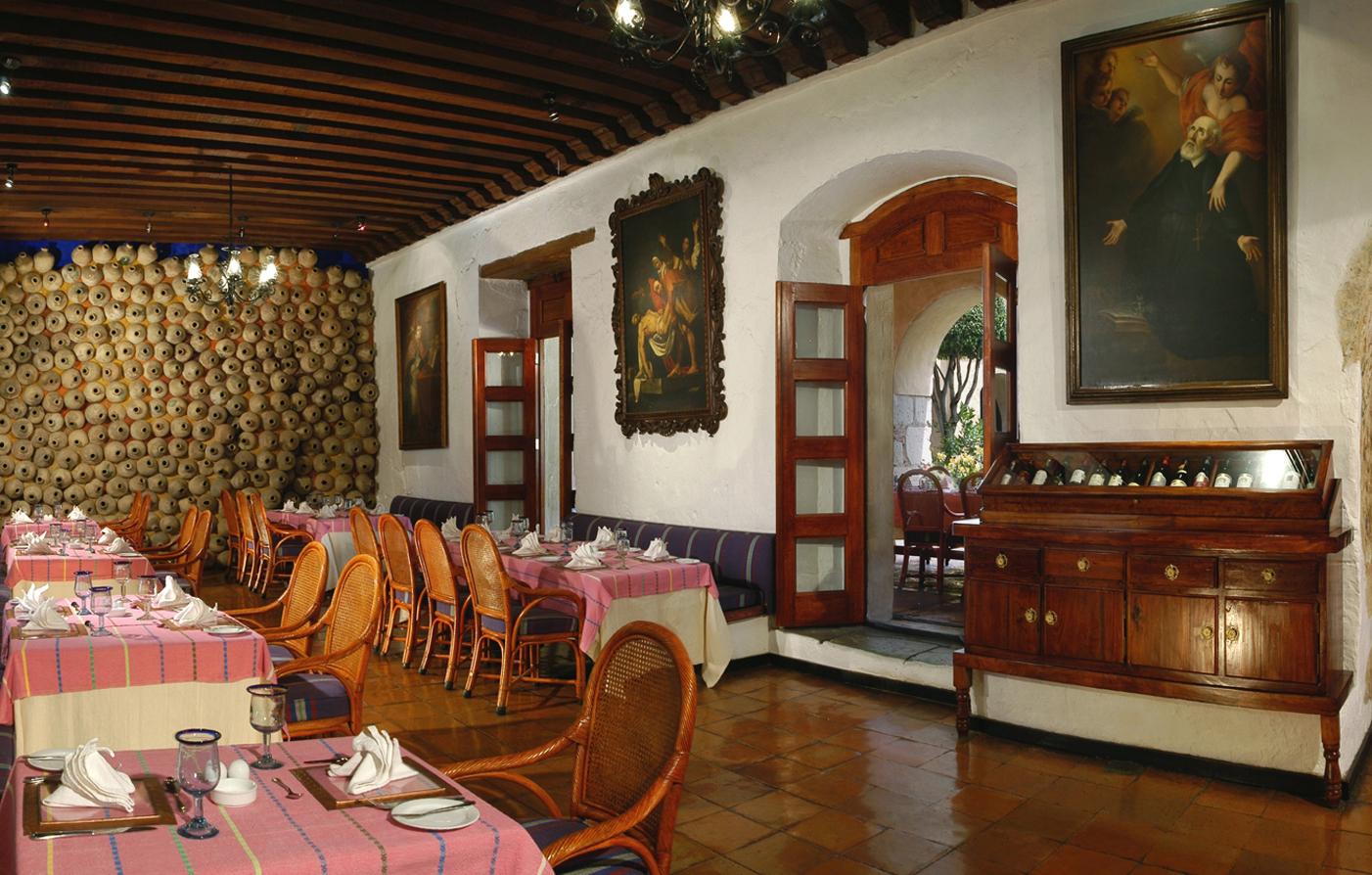 Restaurants In Oaxaca Quinta Real Oaxaca Luxury Mexico