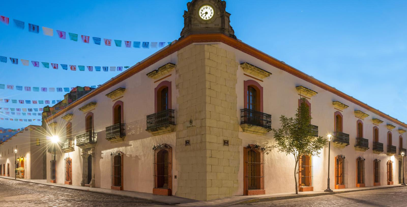 Image of Hotel Exterior Quinta Real Oaxaca, 1576, Member of Historic Hotels Worldwide, in Oaxaca, Mexico, Special Offers, Discounted Rates, Families, Romantic Escape, Honeymoons, Anniversaries, Reunions