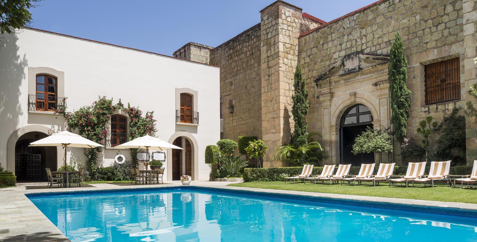 Image of Pool Quinta Real Oaxaca, 1576, Member of Historic Hotels Worldwide, in Oaxaca, Mexico, Explore