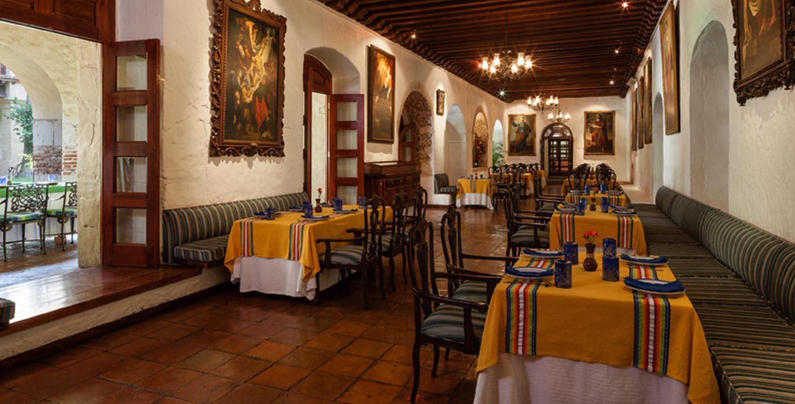 Image of Dining Area Quinta Real Oaxaca, 1576, Member of Historic Hotels Worldwide, in Oaxaca, Mexico, Taste