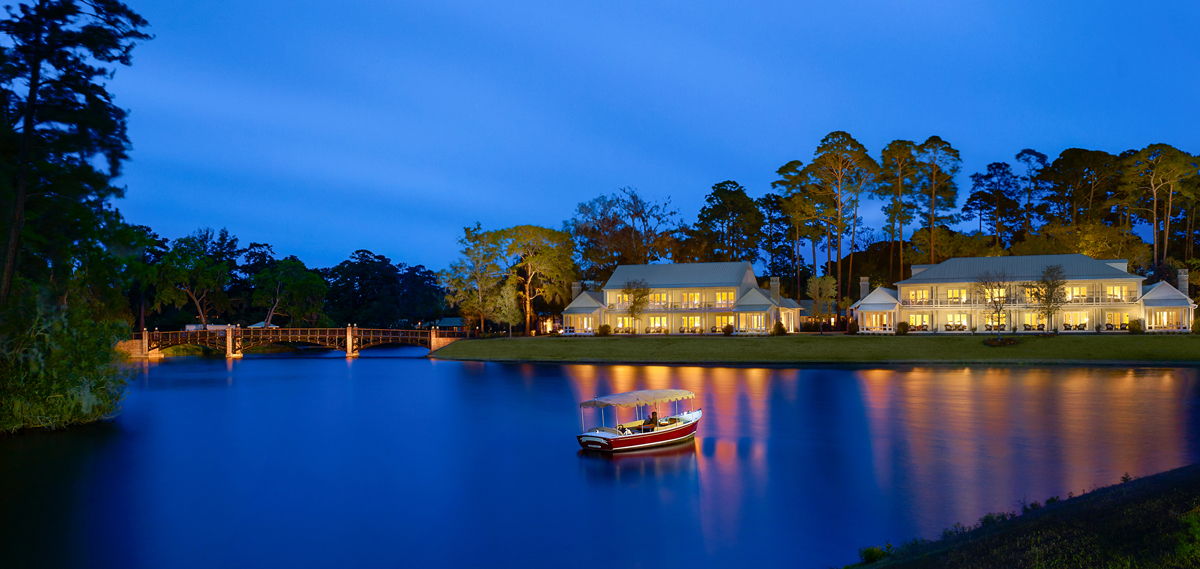 Montage Palmetto Bluff, Bluffton South Carolina, Exterior and Lake