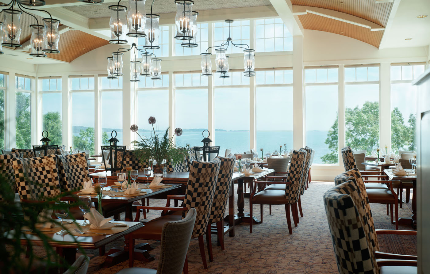 Dining:      Wequassett Resort and Golf Club  in Harwich