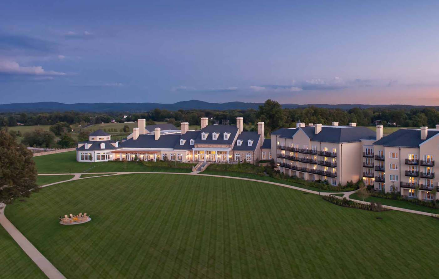 Salamander® Resort & Spa, Middleburg Virginia, Grand Lawn and Exterior