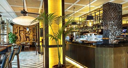 Dining at      Gran Hotel Montesol Ibiza, Curio Collection by Hilton  in Ibiza
